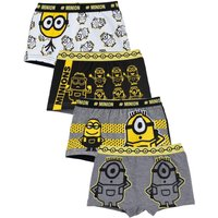 Pack of 4 Boys Minions Trunks.