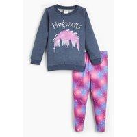 Girls Harry Potter Sweatshirt and Leggings Set