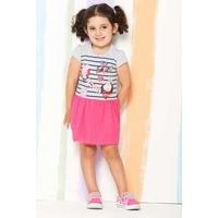 Girls Peppa Pig Short Sleeve Dress