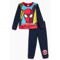 Younger Boys Spiderman Long Sleeve Pyjamas