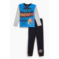 Boys Nerf Long Sleeve Pyjamas