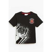 Boys Spider-Man Foil Spider Short Sleeve T-Shirt