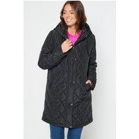 Quilted Black Coat