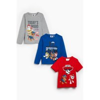 Younger Boys Paw Patrol Pack of 3 T-Shirts