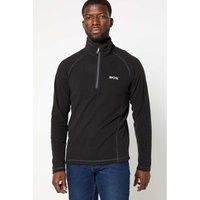 Regatta Montes Half Zip Black Fleece Jacket