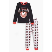 Older Boys Team Nerf Long Sleeve Pyjamas