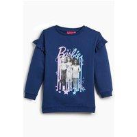 Girls Barbie Sweatshirt Dress
