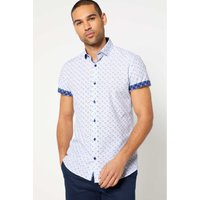 Bewley and Ritch Knowlen White Short Sleeve Shirt
