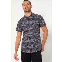 Bewley and Ritch Piri Black Short Sleeve Shirt