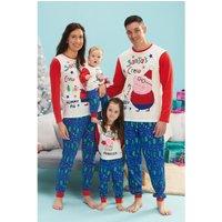 Mens Peppa Pig Daddy Pig Family Christmas Pyjamas