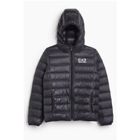 Boys EA7 Hooded Puffer Jacket.