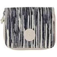 Kipling Money Power Cream Scribble Lines Purse.