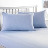 'Plain Dyed Bedding Pair Of Housewife Pillowcases