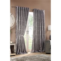 Norfolk Lined Eyelet Curtains and Tie Backs