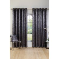 Sparkle Eyelet Lined Blockout Curtains