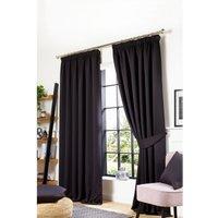 Studio Woven Blackout Pencil Pleat Curtains