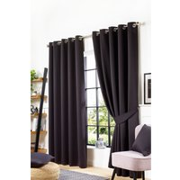 Studio Woven Blackout Eyelet Curtains