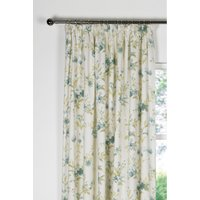 Petal Lined Pencil Pleat Curtains