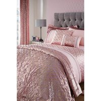 Lavish Metallic Velvet Pencil Pleat Curtains
