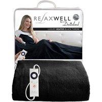 'Relaxwel Luxury Heated Throw