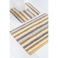 Kingsley Striped 2 Piece Bath Mat Set