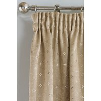 Star Thermal Pencil Pleat Blockout Curtains