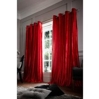 Danielle Lined Eyelet Curtains