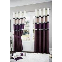 Panama Lined Eyelet Curtains