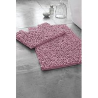 Loop Bath Mat and Pedestal Set
