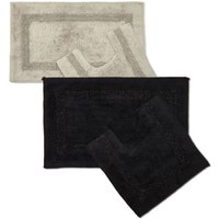 Brillaire Sparkle Trim 2 Piece Bathroom Set