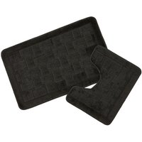 Orkney Crosshatch Effect 2 Piece Bath Set
