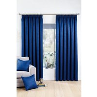 Crinkle Woven Blockout Pencil Pleat Curtains