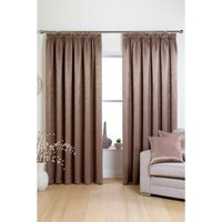 Rosa Woven Blockout Pencil Pleat Curtains including Cushion Covers