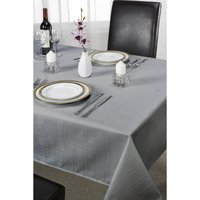 Round Chequers Jacquard Table Cloth