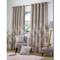 Blossom Border Eyelet Curtains