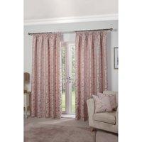 Duchess Jacquard Pencil Pleat Lined Curtains
