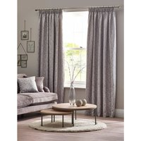 Sienna Printed Lined Pencil Pleat Curtains