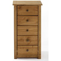 Santiago Solid Pine 5 Drawer Chest of Drawers