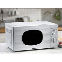 'Daewoo 20 Litre 700w Kor6l77 Manual Microwave - White