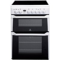 Indesit 60cm Double Oven Electric Cooker