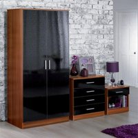 Carleton 3-Piece High Gloss Bedroom Set