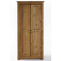 'Santiago Solid Pine 2 Door Wardrobe