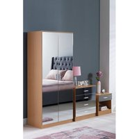 Coniston Mirror Fronted 3-Piece Bedroom Set