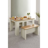 Lancaster 120cm Dining Table and Benches