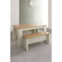 Lancaster 150cm Dining Table and Benches