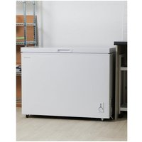 Russell Hobbs 293L White Chest Freezer