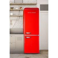 Galanz 60cm 300L Retro Fridge Freezer