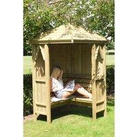 Honeysuckle Corner Arbour