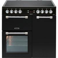 Leisure 90cm Cookmaster Black Electric Range Cooker