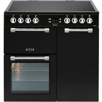 Leisure 90cm Cookmaster Black Electric Range Cooker
